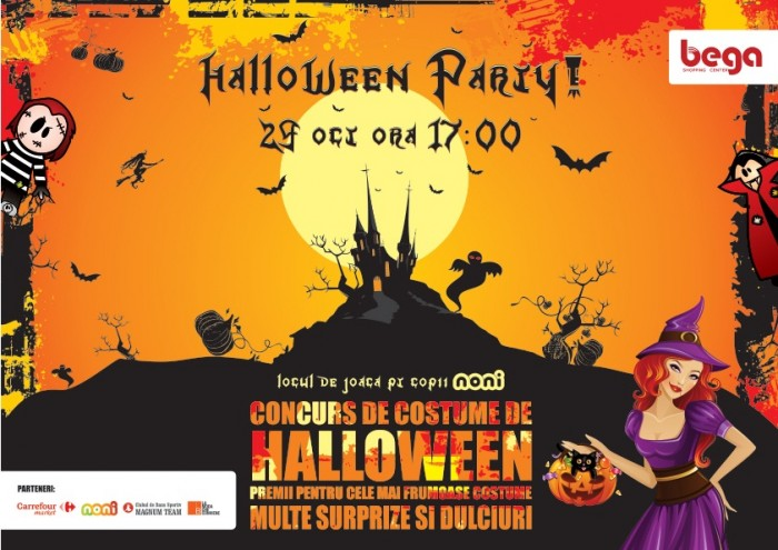 Halloween Party la Bega Shopping Center