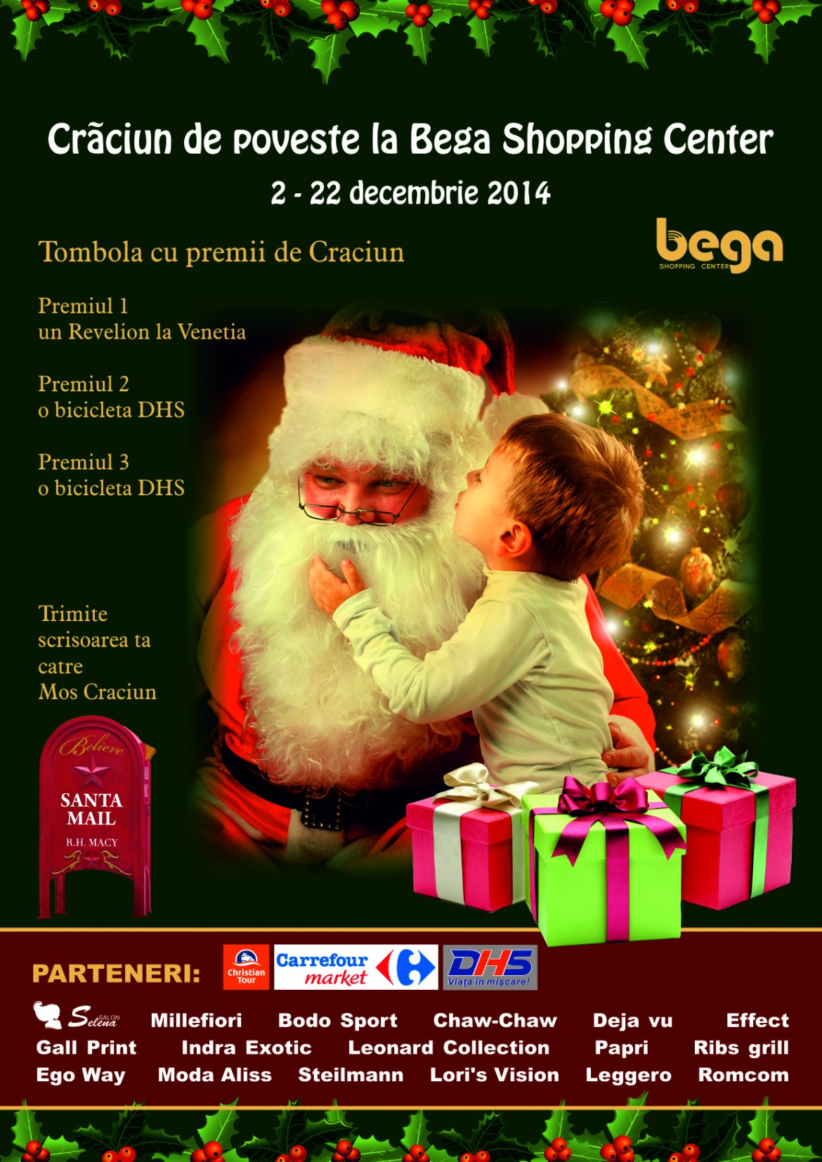 Craciun de poveste la Bega Shopping Center
