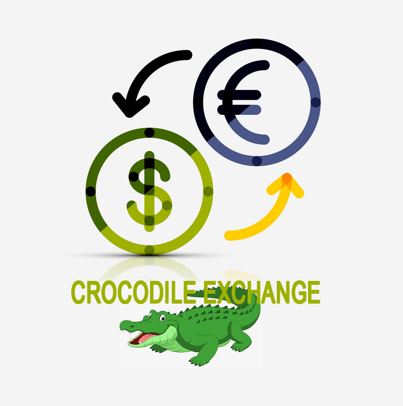 Crocodile exchange logo