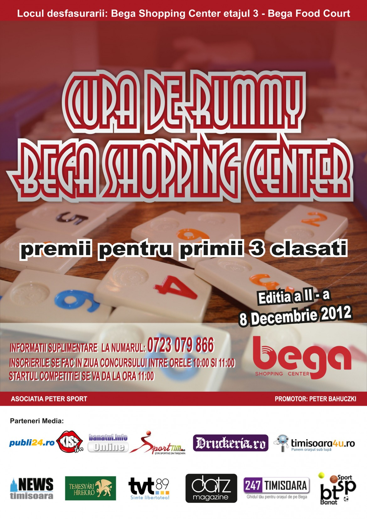 Cupa de Rummy Bega Shopping Center - editia a II-a