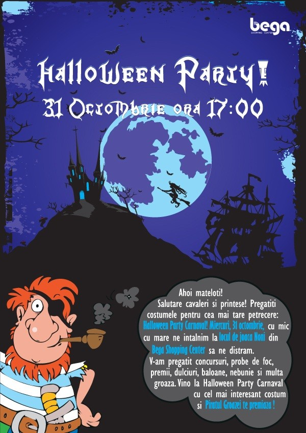 Halloween Party Carnaval  Bega Shopping Center