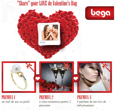Share your LOVE de Valentine's Day