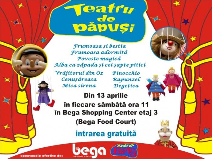 Teatru de papusi la Bega Food Court