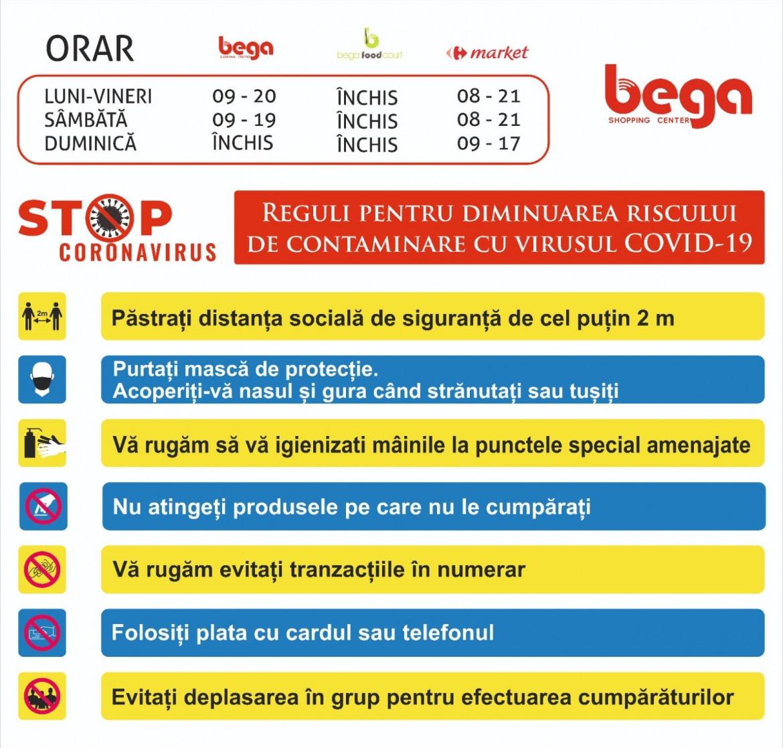 regulament Bega din 18 05 2020
