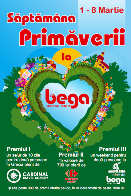 saptamana primaverii la Bega Shopping Center